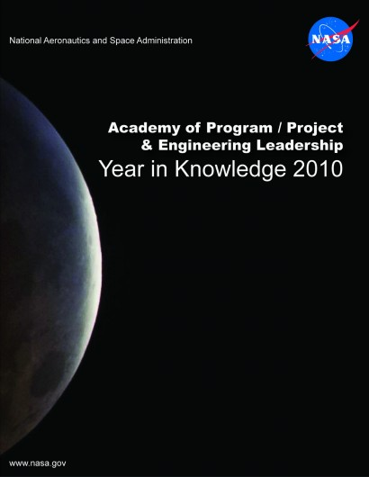 NASA 2010 APPEL Year in Knowledge