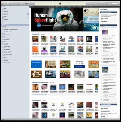 iTunes NASA Human Spaceflight