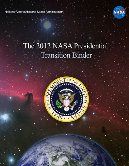 2012 NASA Presidential Transition Binder